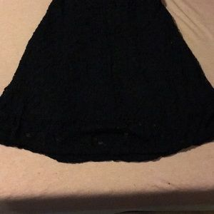 Maurices Dresses - Black lace dress with 3/4 length sleeves